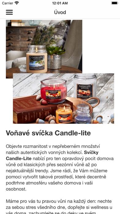 Americké svíčky.eu screenshot 1