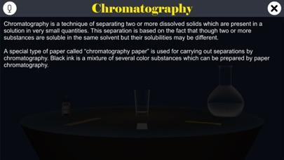 Chromatography screenshot 1