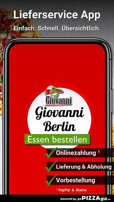 Pizzeria Giovanni Berlin screenshot 1