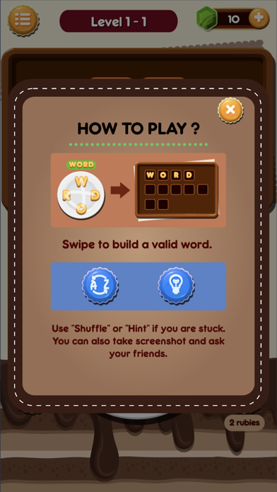Word Browines screenshot 4