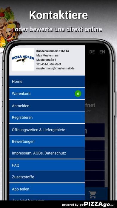 Pizza-Adler Aichach screenshot 3