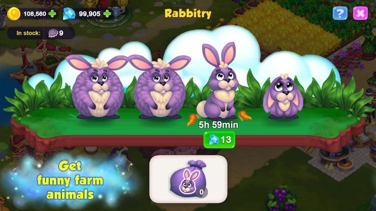 Royal Farm: Fairytale harvest screenshot-3