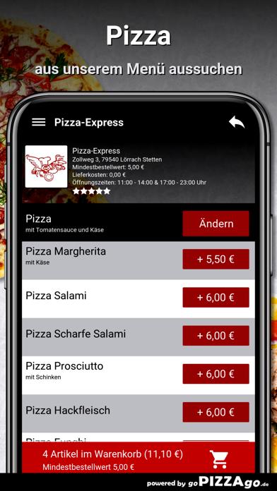 Pizza-Express Lörrach Stetten screenshot 5