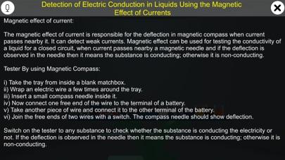 Conductivity in Liquids screenshot 1