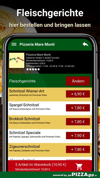 Pizzeria Mare Monti Dorsten screenshot 6