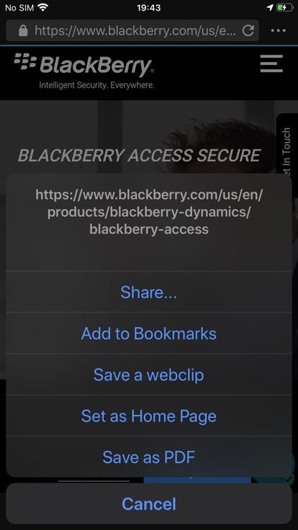BlackBerry Access screenshot-7
