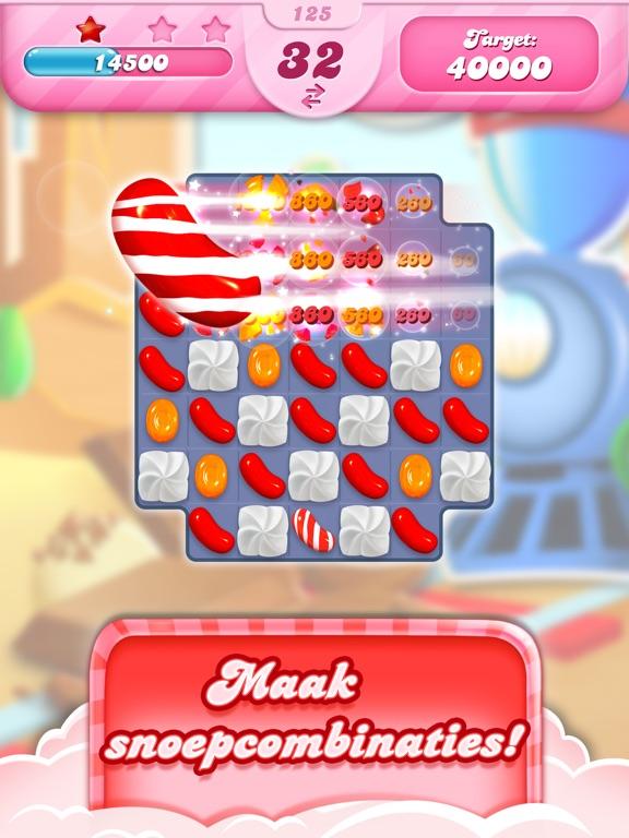 Candy Crush Saga iPad app afbeelding 3