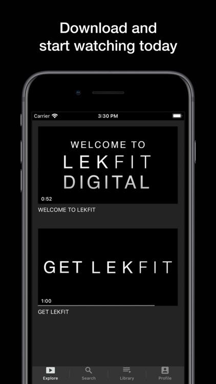 LEKFIT Digital screenshot-4