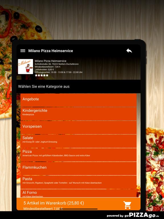 Milano Niefern-Öschelbronn screenshot 8