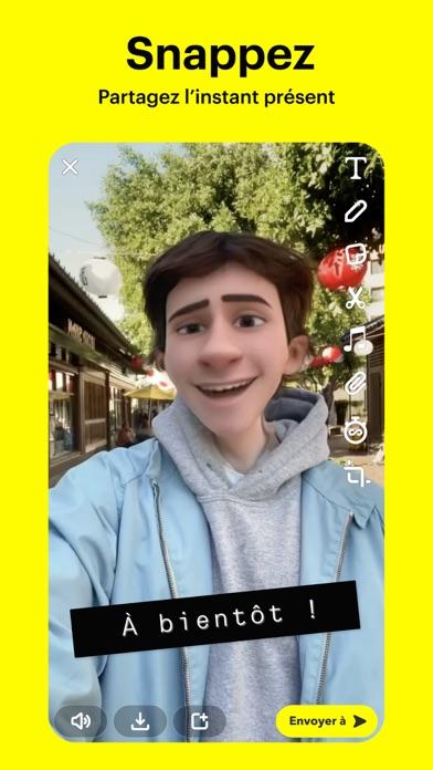 Screenshot #1 pour Snapchat