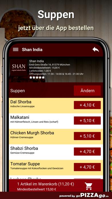 Shan India München screenshot 5