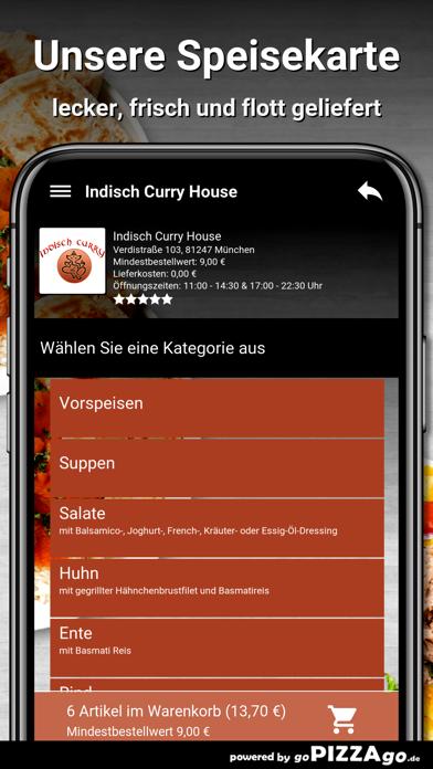 Indisch Curry House München screenshot 3