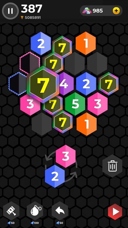 X7 Blocks - Merge Puzzle screenshot-3
