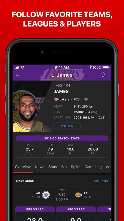 ESPN: Live Sports & Scores screenshot-8