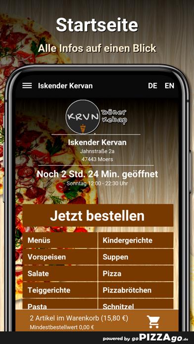 Iskender Kervan Moers screenshot 2