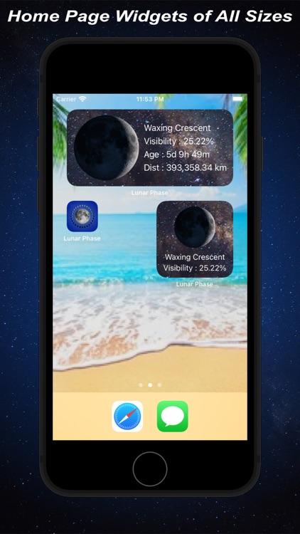 Lunar Phase - Moon Calendar screenshot-9