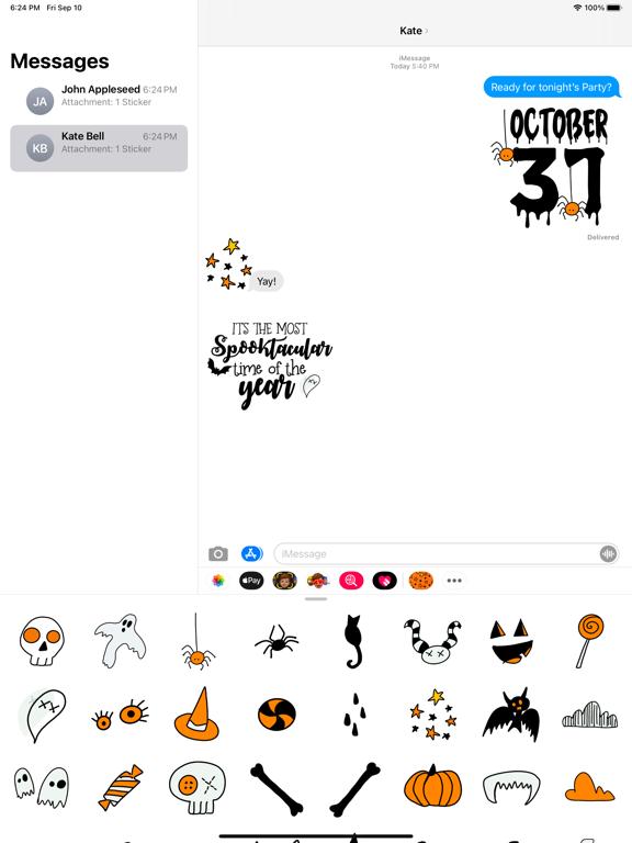 Halloween Night Party Stickers screenshot 6