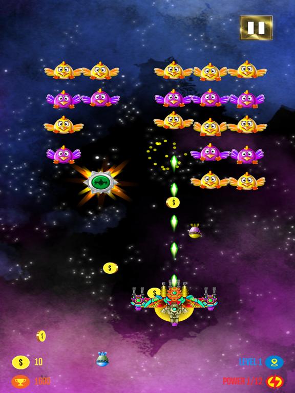Airplane Space Shooter Galaxy screenshot 12