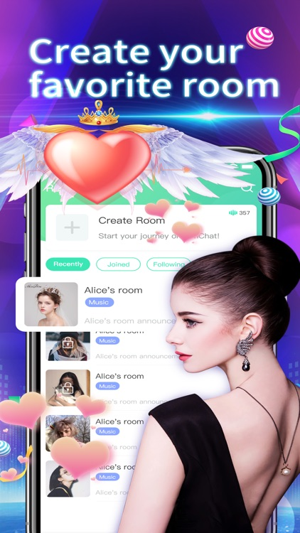 Timchat-Group Voice Chat Rooms screenshot-7