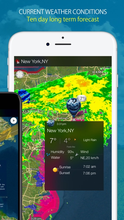 Radar Sky - NOAA Weather Radar screenshot-4