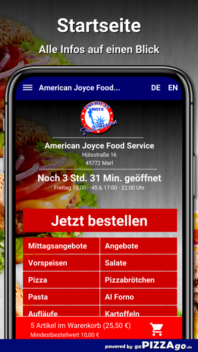American Joyce Food Marl screenshot 4