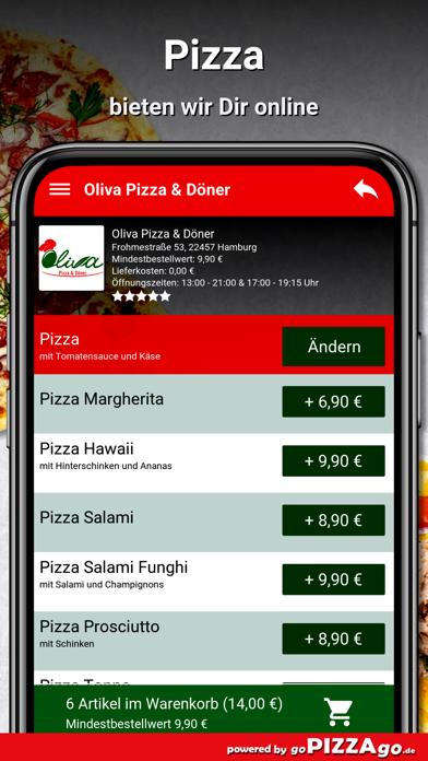 Oliva Pizza & Döner Hamburg screenshot 5