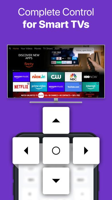 Universal Remote - TV Control iPhone app afbeelding 1