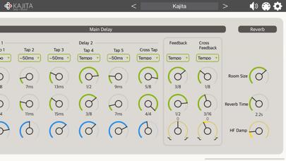 Kajita - AUv3 Plugin Effect紹介画像5