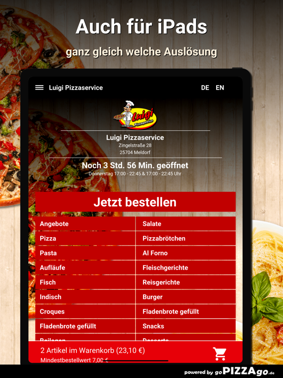 Luigi Pizzaservice Meldorf screenshot 7