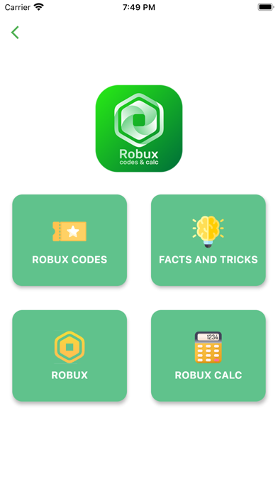 Robux Calc & Codes for RobloxScreenshot of 1