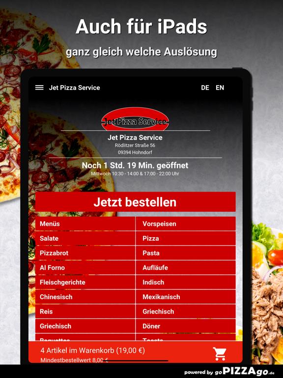 Jet Pizza Service Hohndorf screenshot 7