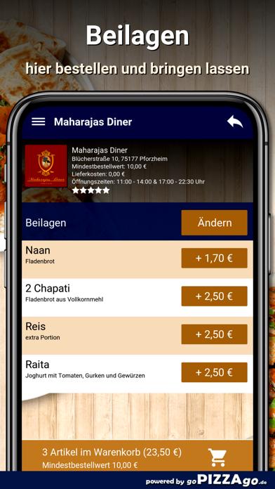Maharajas Diner Pforzheim screenshot 6