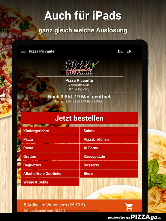 Pizza Piccante Augsburg screenshot 7