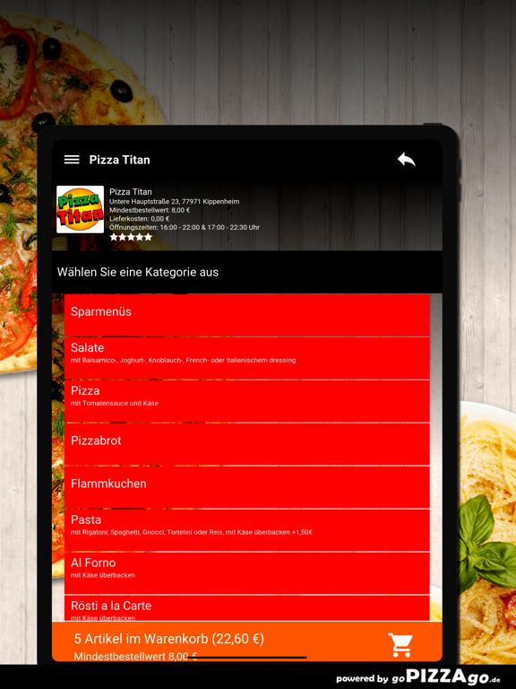 Pizza Titan Kippenheim screenshot 8