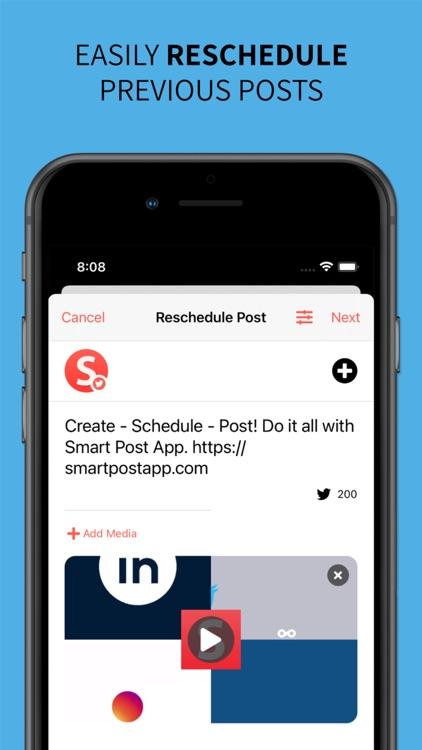 Smart Post: Social Media Tool screenshot-3