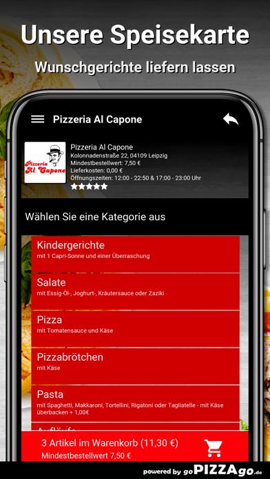 Pizzeria Al Capone Leipzig screenshot 4