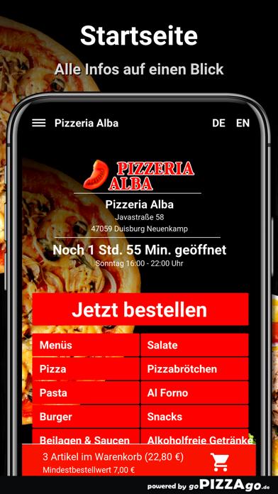 Pizza Alba Duisburg Neuenkamp screenshot 2