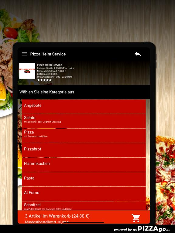 Pizza Heim Service Pforzheim screenshot 8