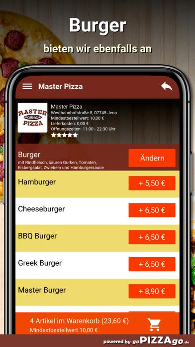 Master Pizza Jena screenshot 6