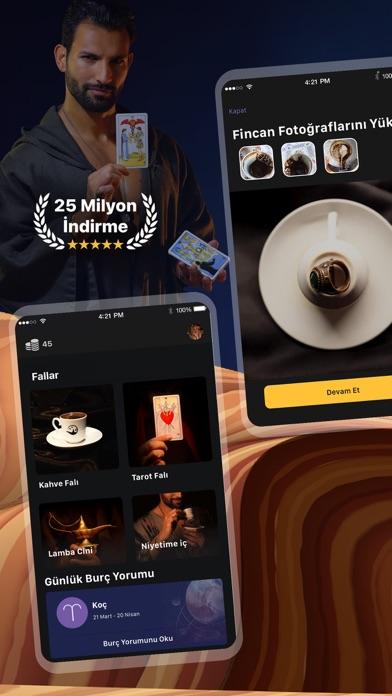 Faladdin: Tarot & Kahve Falı iphone ekran görüntüleri
