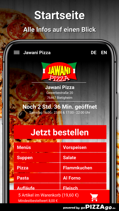 Jawani Pizza Bietigheim screenshot 2