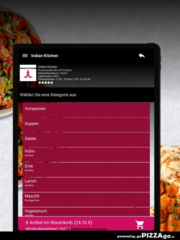 Indian Kitchen Bonn screenshot 8