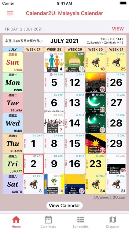 Malaysia Calendar 2021 - 2022 screenshot-3