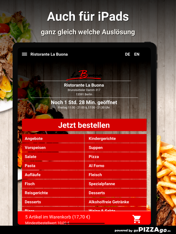 Ristorante La Buona Berlin screenshot 7