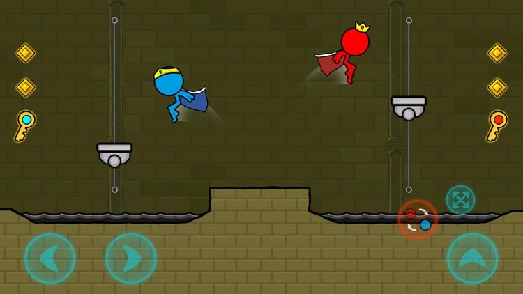 冰与火: 森林迷宫(Red & Blue Stickman) screenshot-5