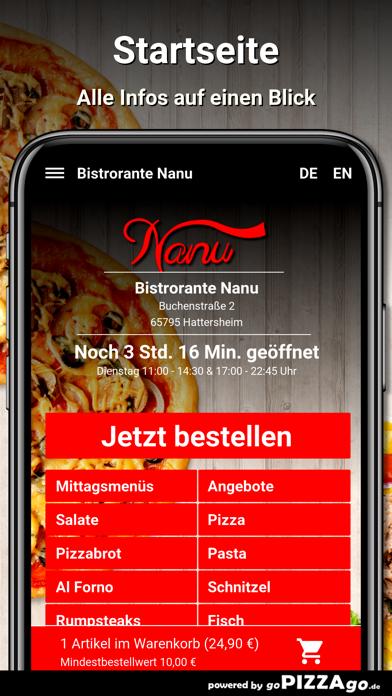 Bistrorante Nanu Hattersheim screenshot 2
