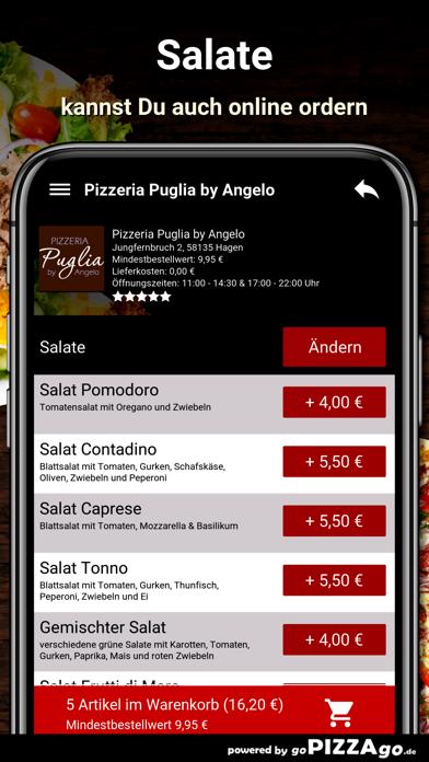 Pizzeria Puglia Hagen screenshot 5