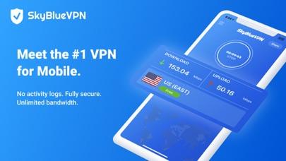 SkyBlueVPN: VPN & Ad BlockerScreenshot von 1