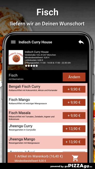 Indisch Curry House München screenshot 6