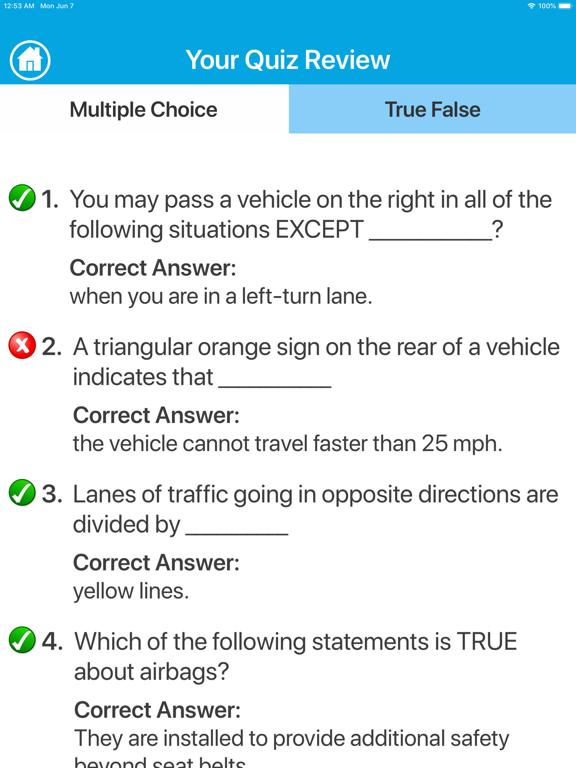 Driving Licence Quiz screenshot 8